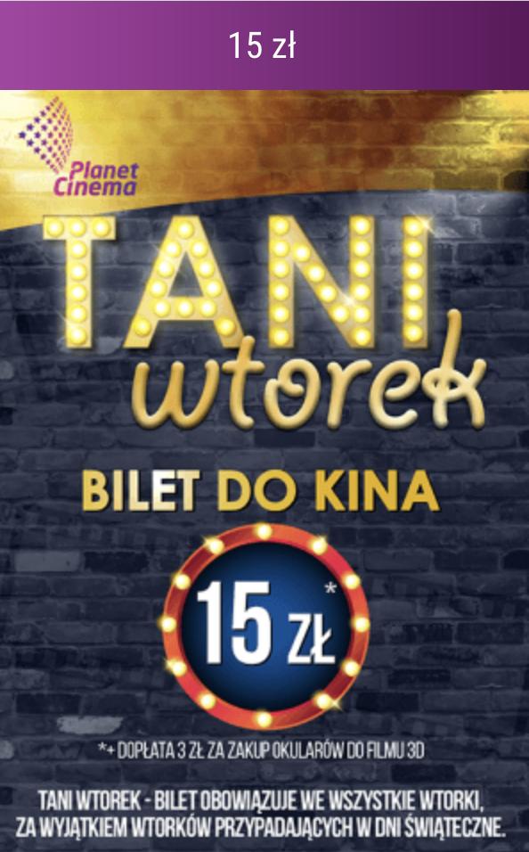 Kino Planet Cinema Oświęcim Tanie Wtorki