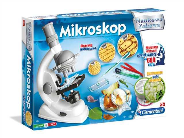 Clementoni: Naukowa zabawa - Mikroskop