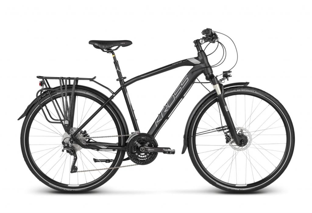 InfoOswiecim.pl Blue Sport Oświęcim Rowery Rower Kross Trans 11 0 Black Graphite Silver Matte