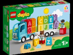 LEGO® DUPLO   Ciężarówka z alfabetem