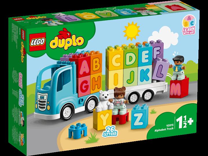 LEGO® DUPLO | Ciężarówka z alfabetem