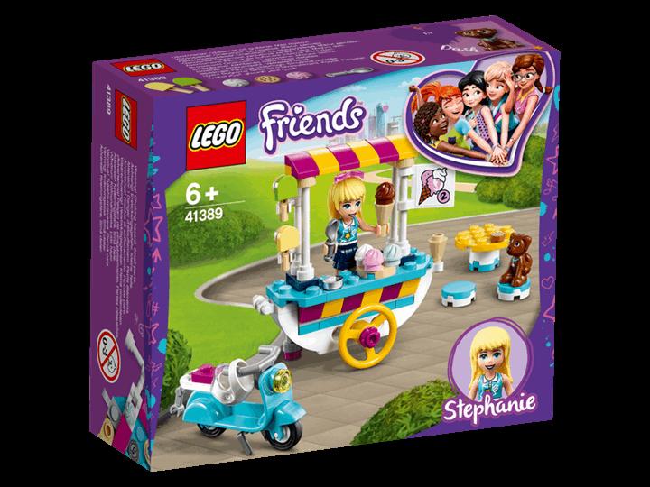 LEGO® Friends | Wózek z lodami