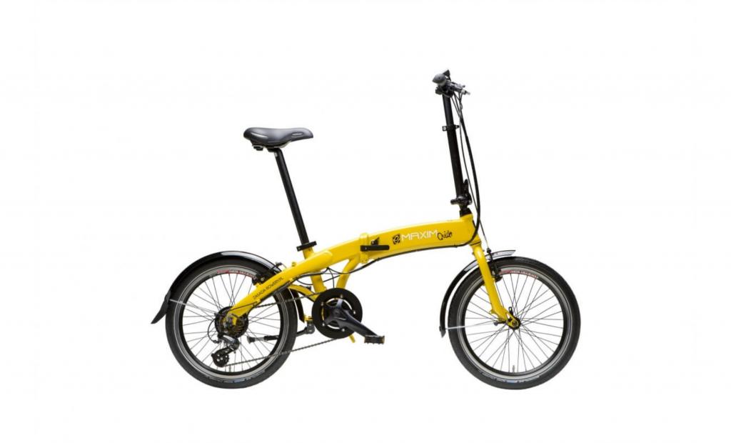 Rower składak Maxim QUICK Yellow Blue Sport Rowery Oświęcim Info Oswiecim pl