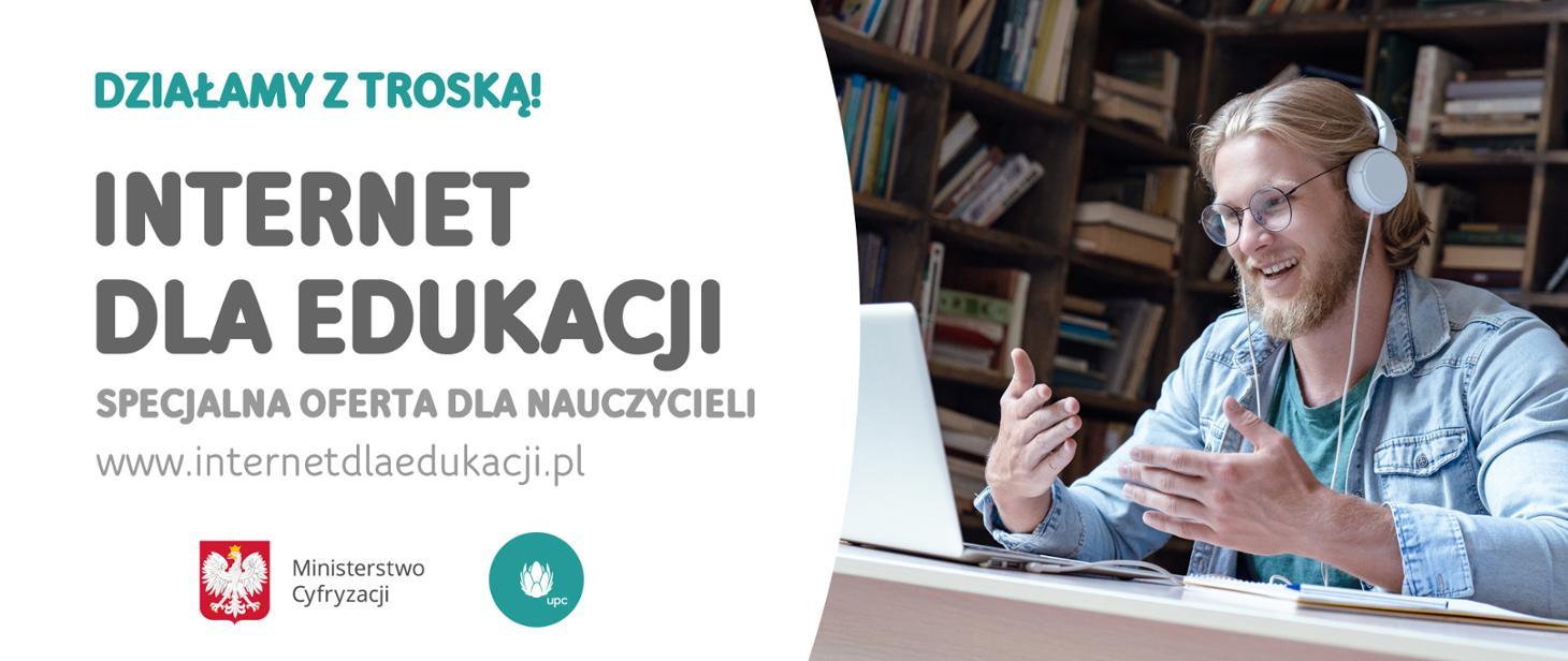 Darmowy internet dla nauczycieli – współpraca z UPC Polska gov-pl