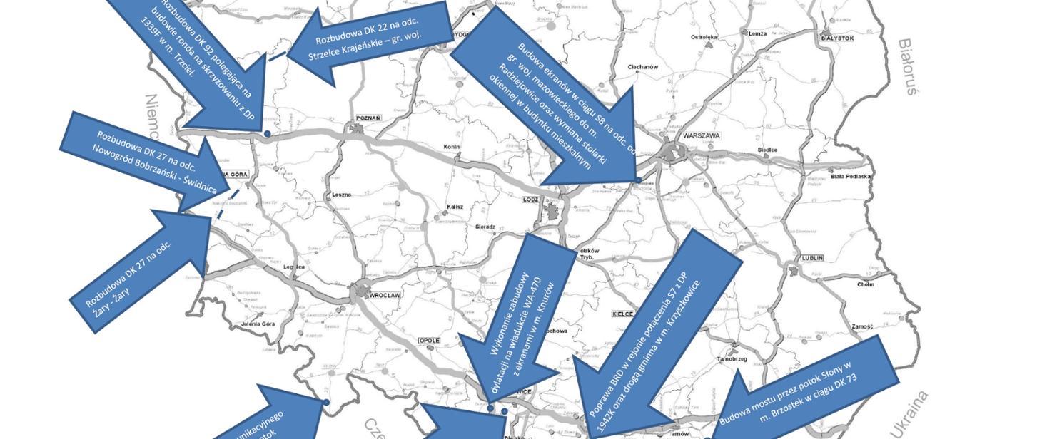 MI przeznaczy 439 mln zł na modernizację dróg krajowych gov-pl