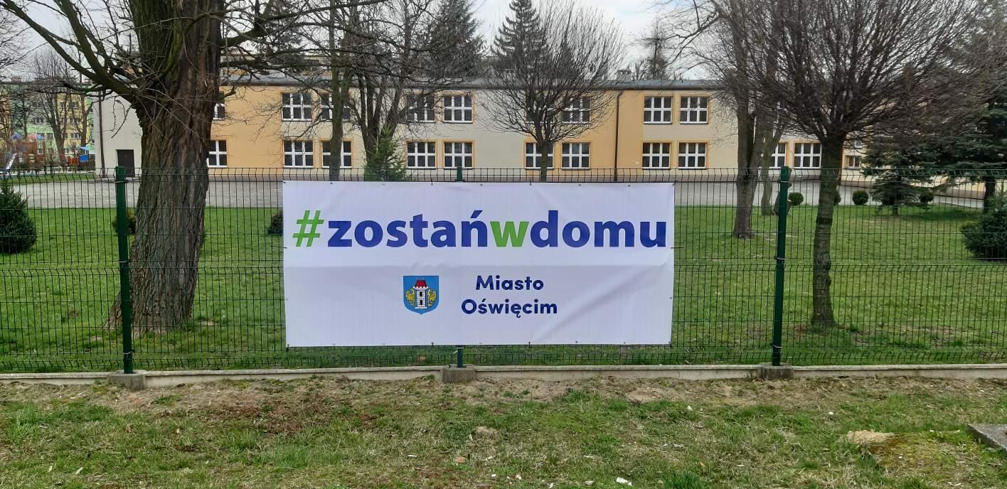 Oświęcim. #Zostań w domu. Apelują władze miasta Oświęcimia oswiecim-pl