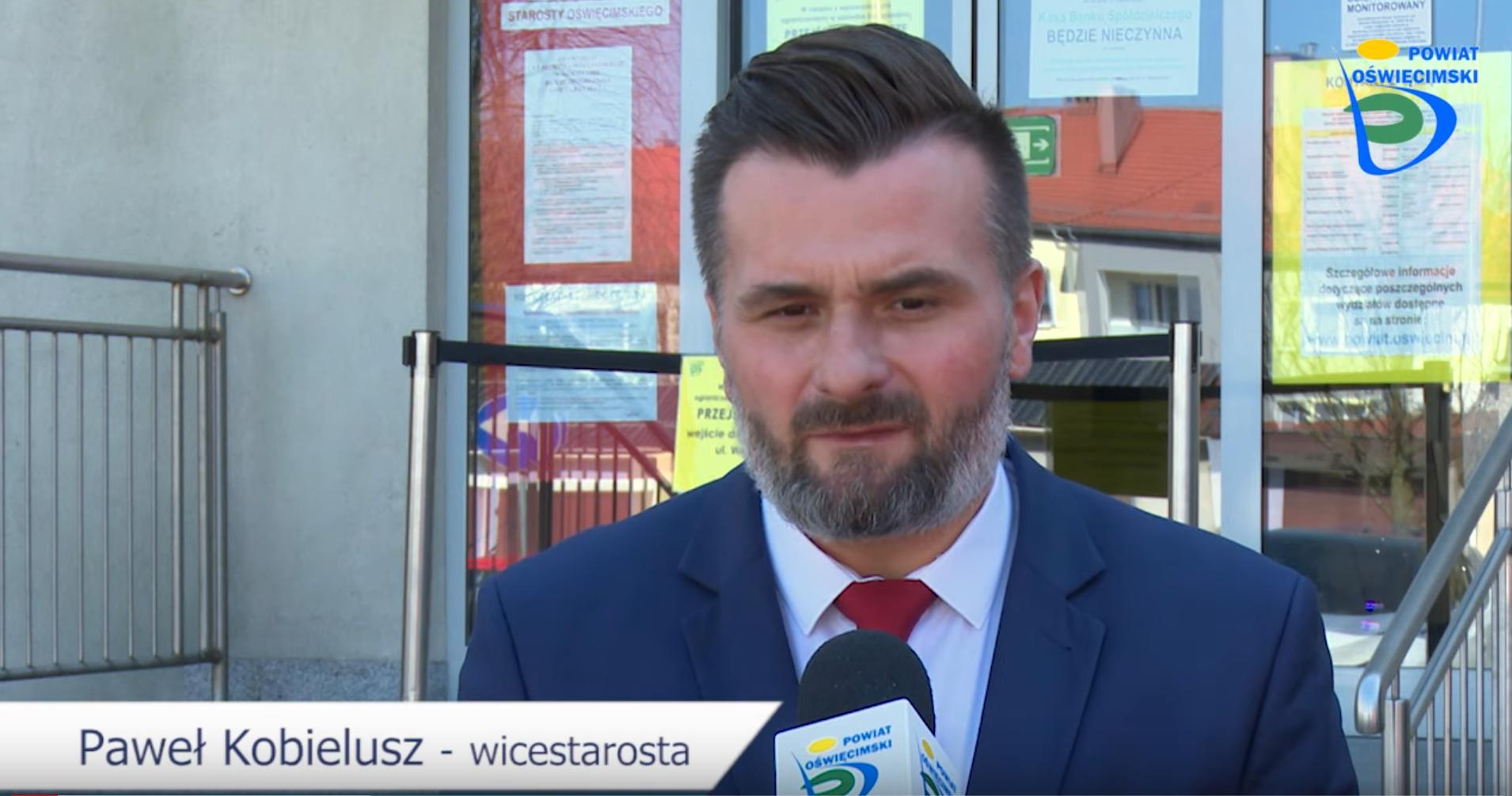 Paweł Kobielusz wicestarosta Powiat Oświęcim -pl