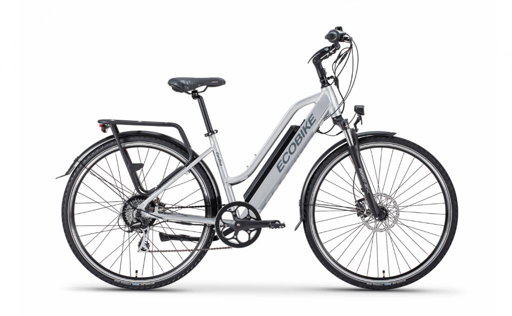Rowery Oświęcim Blue Sport Rower Elektryczny Ecobike Cortina 2019