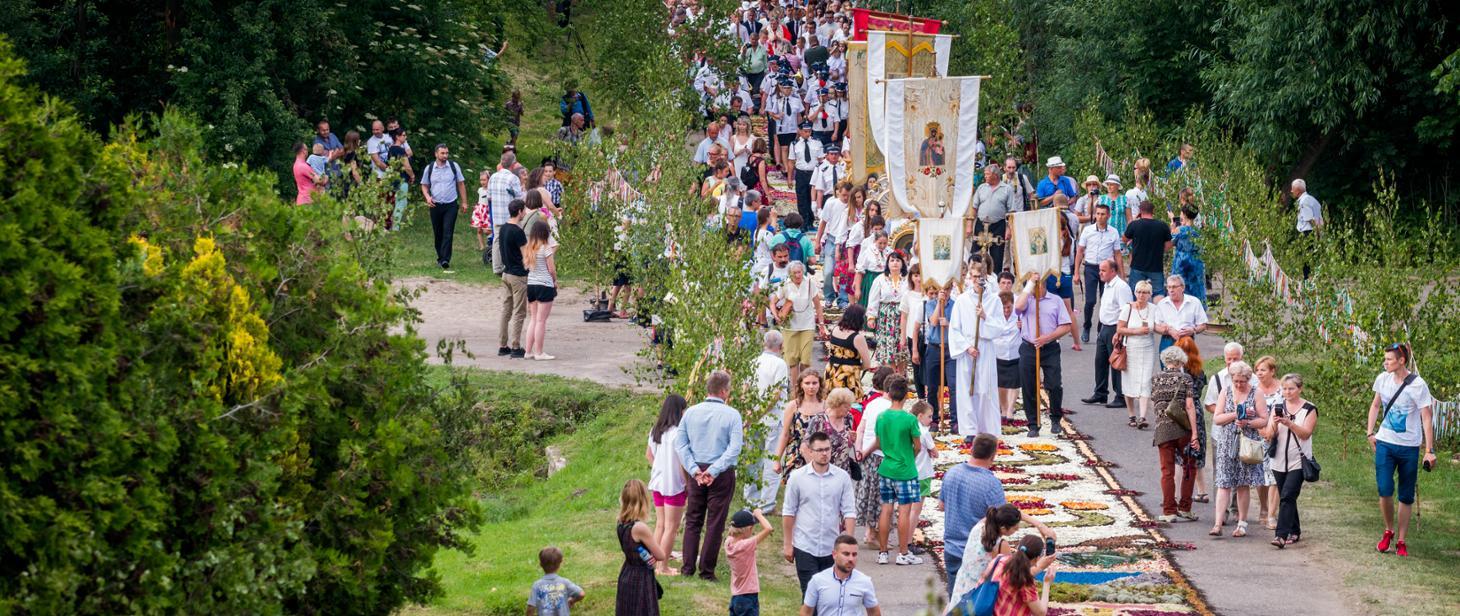 Tradycja dywanów kwiatowych i sokolnictwo na Listę UNESCO - gov-pl