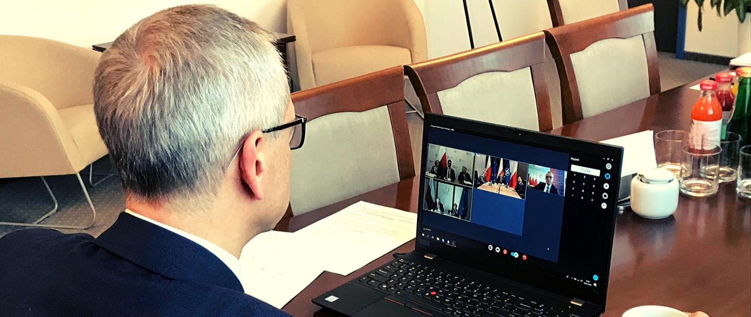 Wsparcie dla szkół – wideokonferencja z udziałem Prezydenta RP gov-pl
