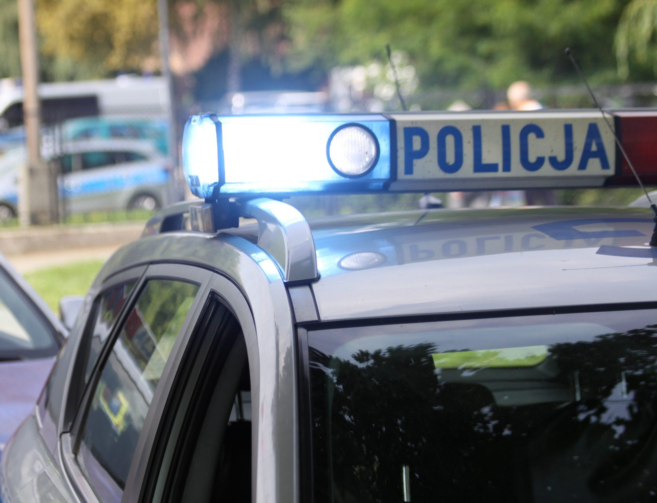 KPP Policja Oświęcim radiowóz 5