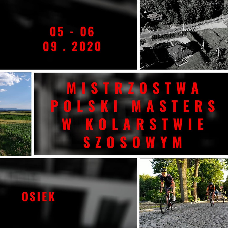 Mistrzostwa Polski Masters w kolarstwie szosowym Osiek małopolska powiat oświęcimski info oswiecim 2020 powiat oświęcimski info oswiecim