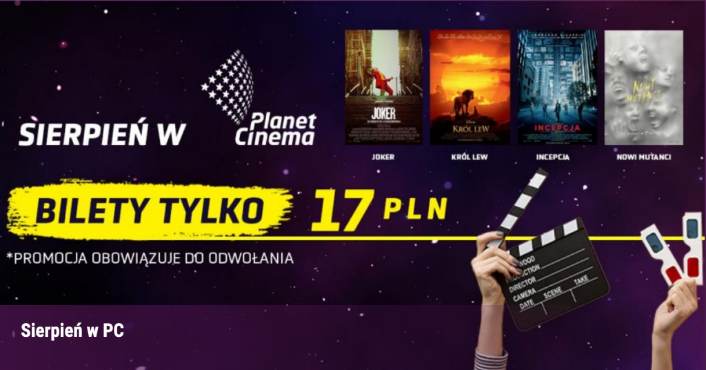 Planet Cinema Kino Oświęcim
