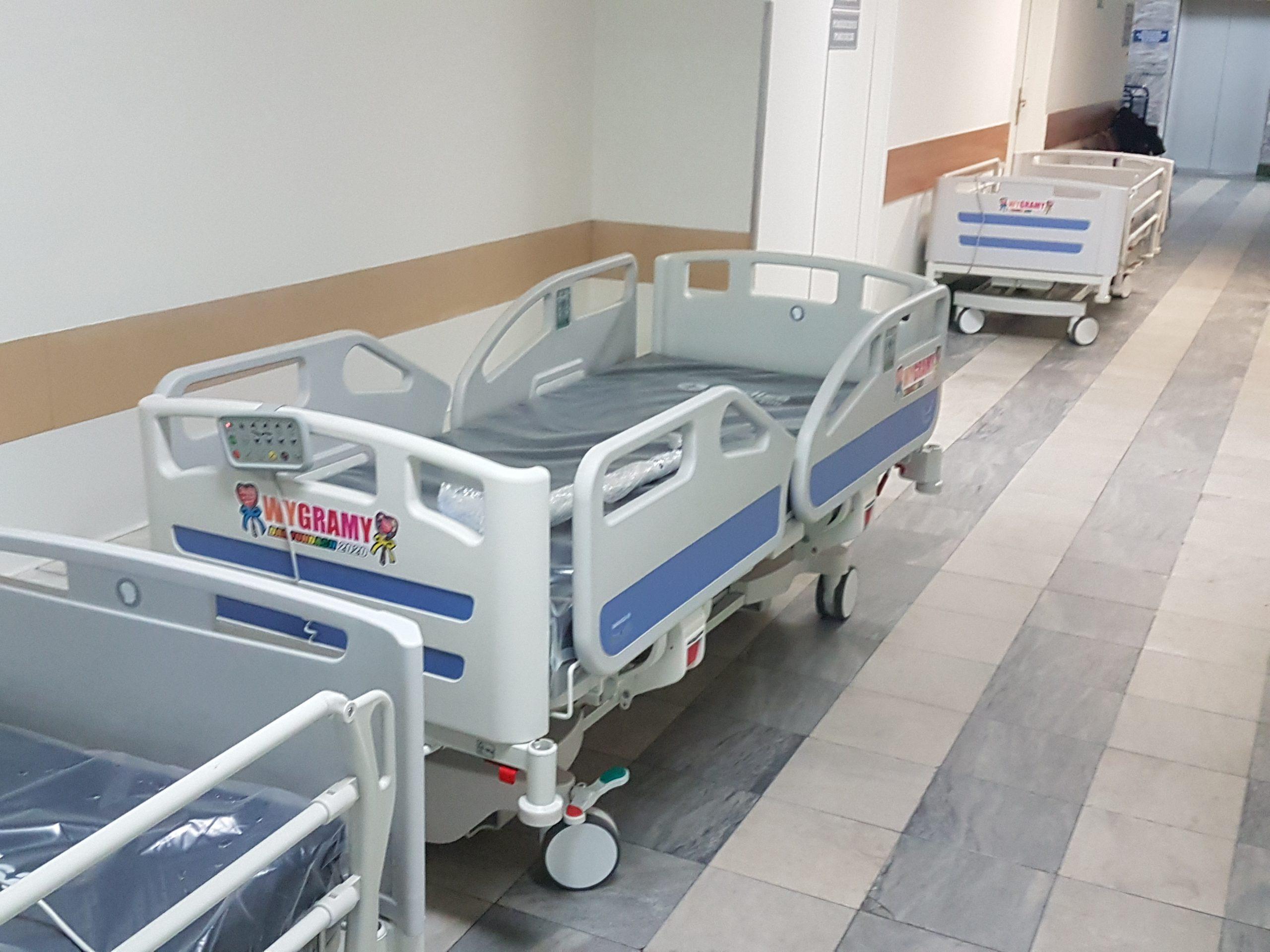 Fundacja WOŚP kupiła 1279 łóżek na oddziały dla chorych na COVID-19