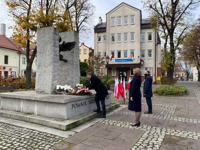 Oświęcim. Skromne uroczystości 102. rocznicy odzyskania przez Polskę niepodległości oswiecim pl 1
