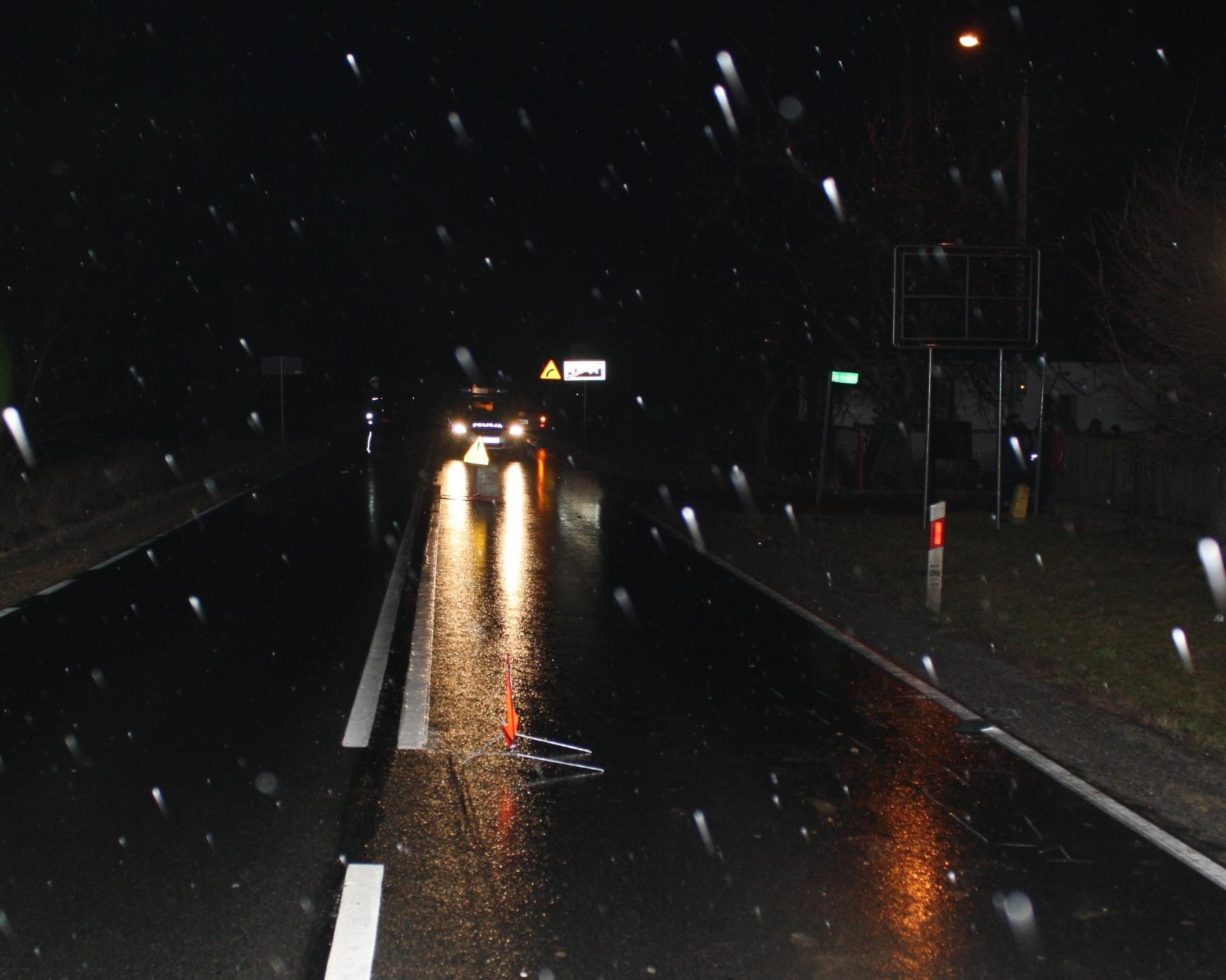 KPP Oświęcim uwaga zmienne warunki na drogach