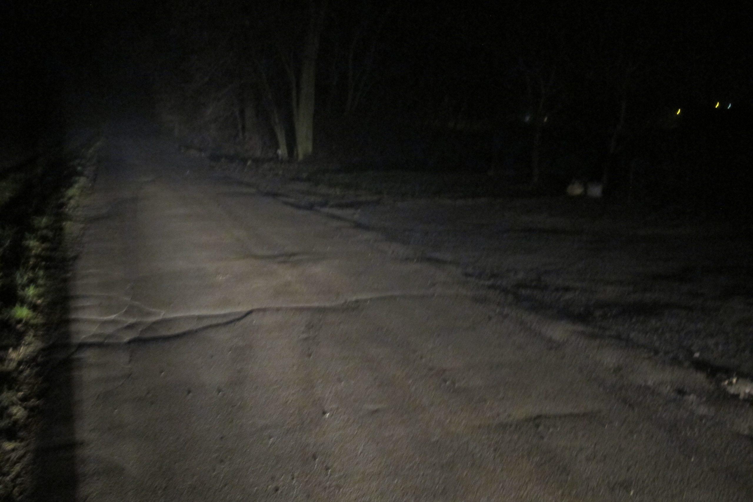 KPP Oświęcim. Osiek potrącenie pieszego ul. Słoneczna 21.12 (1)