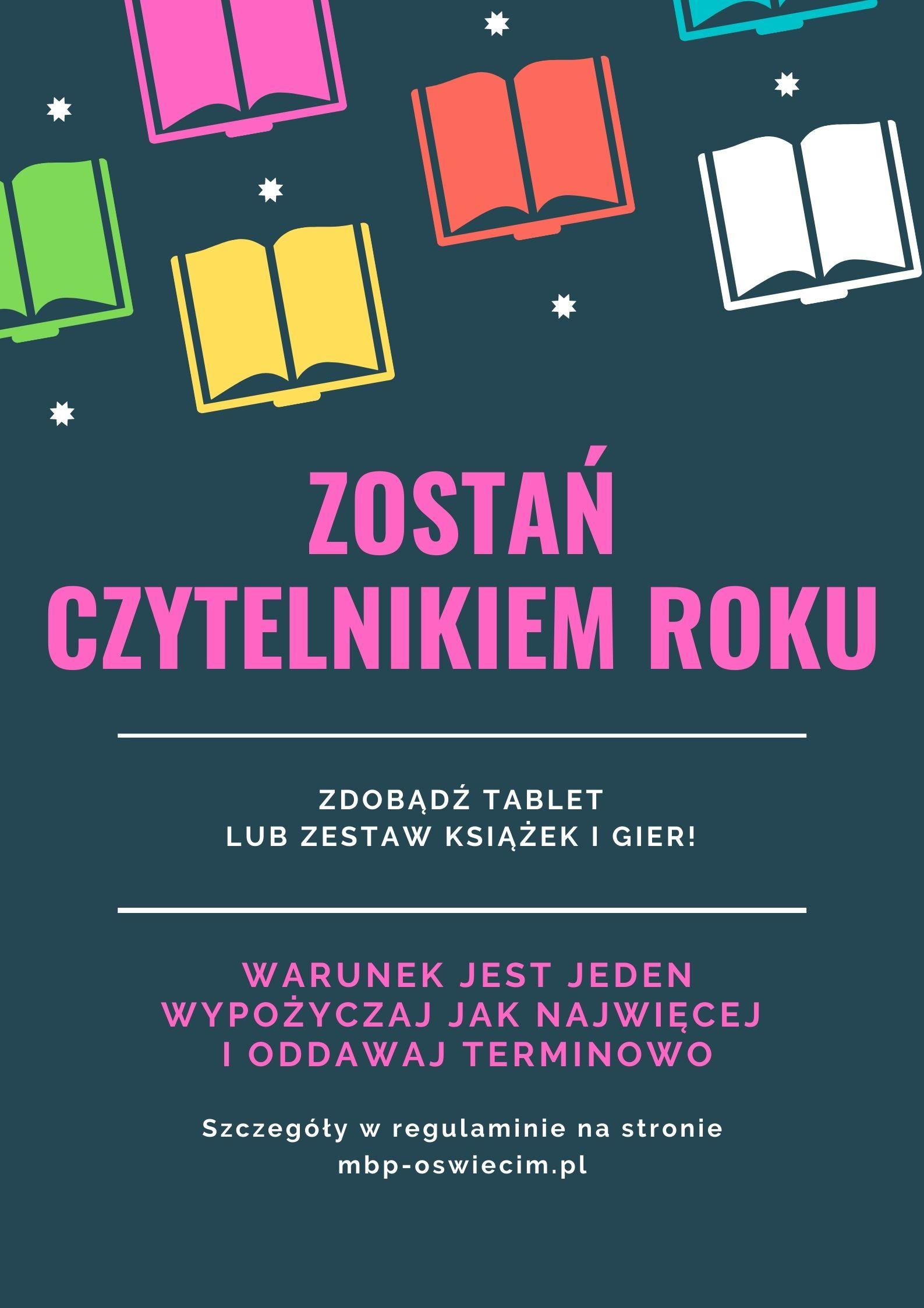 ZOSTAN-CZYTELNIKIEM-ROKU Biblioteka Oswiecim oswiecim pl