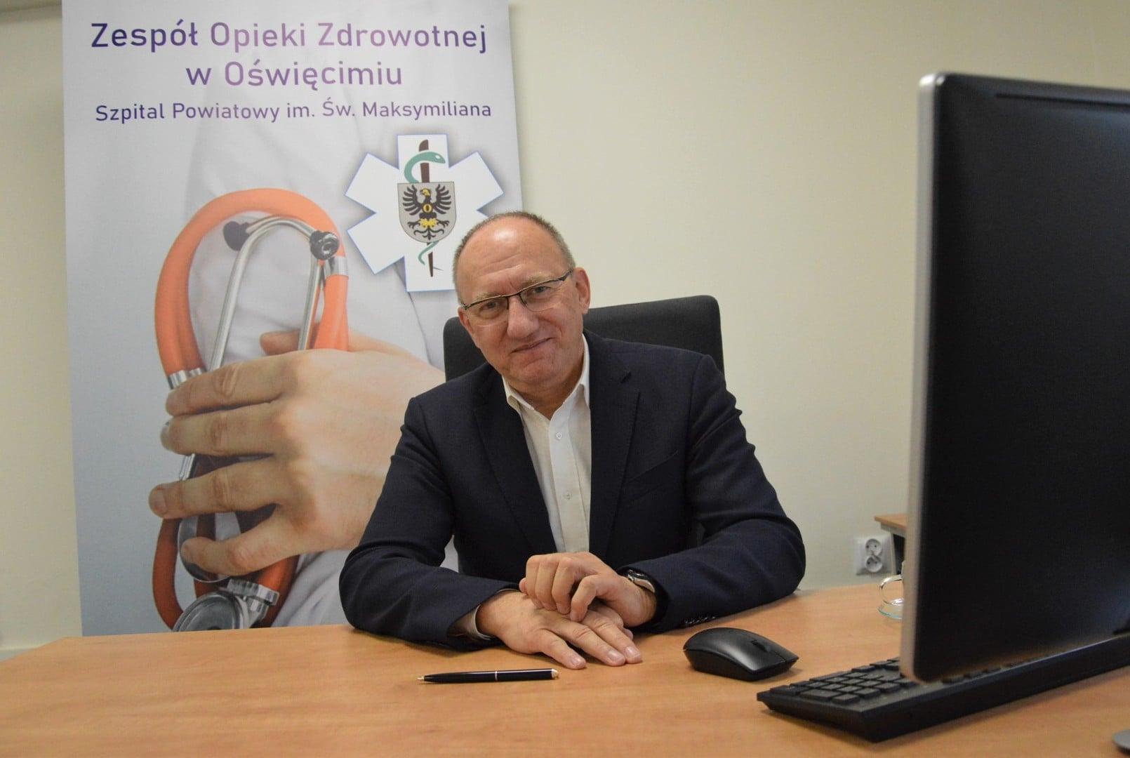 Szpital Oświęcim- Nominacje do tytułu Osobowość Roku 2020 – kategoria Biznes