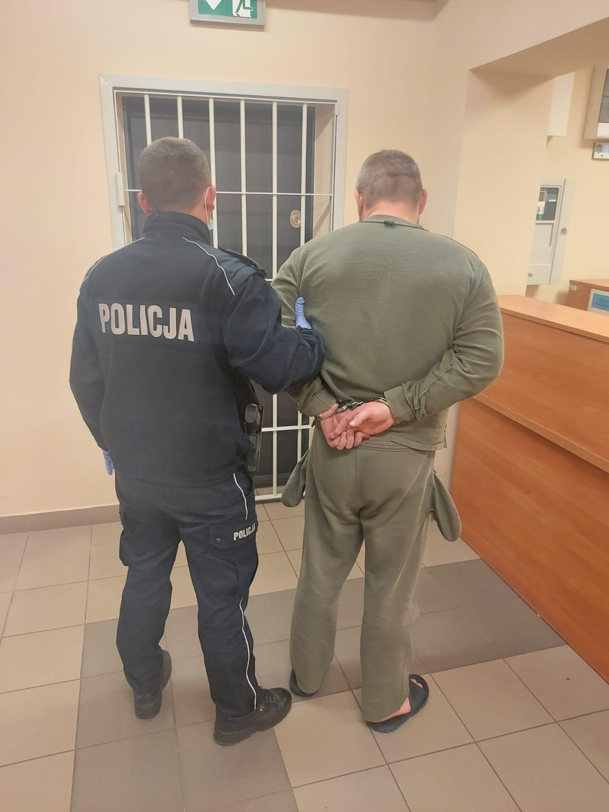 KPP Oświęcim. Podejrzany o znęcanie zatrzymany