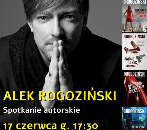Alek Rogoziński w oświęcimskiej książnicy powiat oswiecim pl