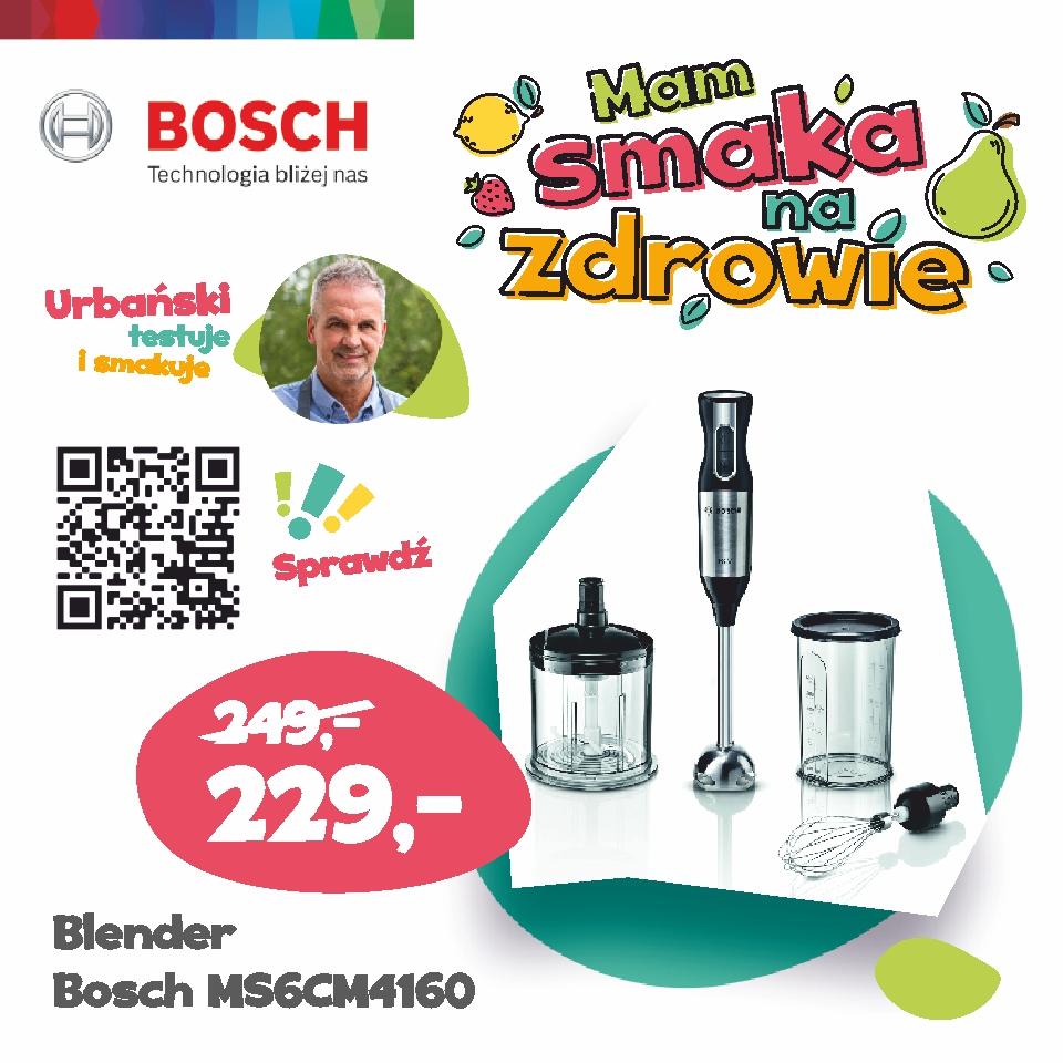 Agnes Oświęcim RTV AGD max elektro Bosch Blender MS6CM4160