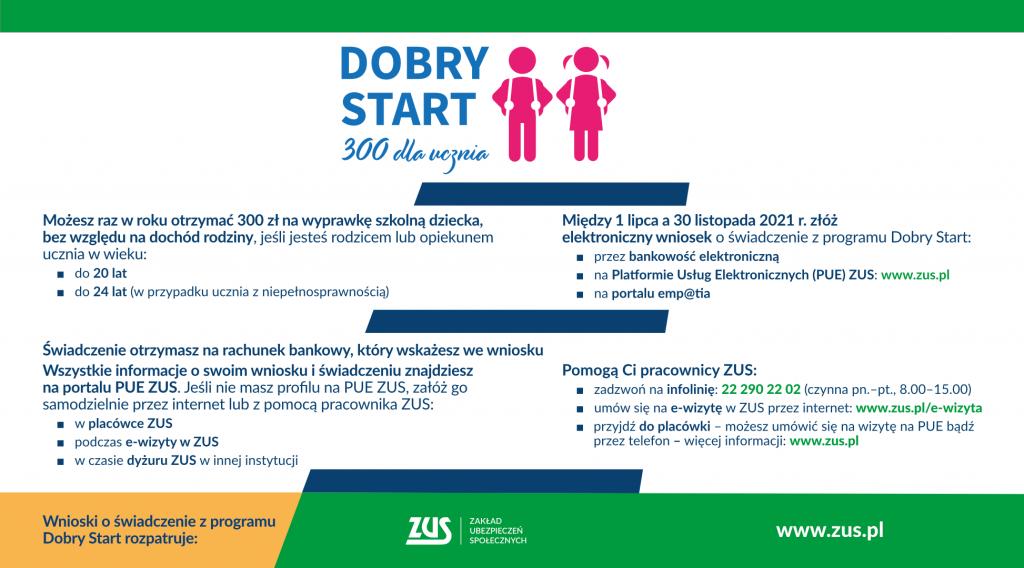 Dobry Start 300 dla ucznia powiat oswiecim pl