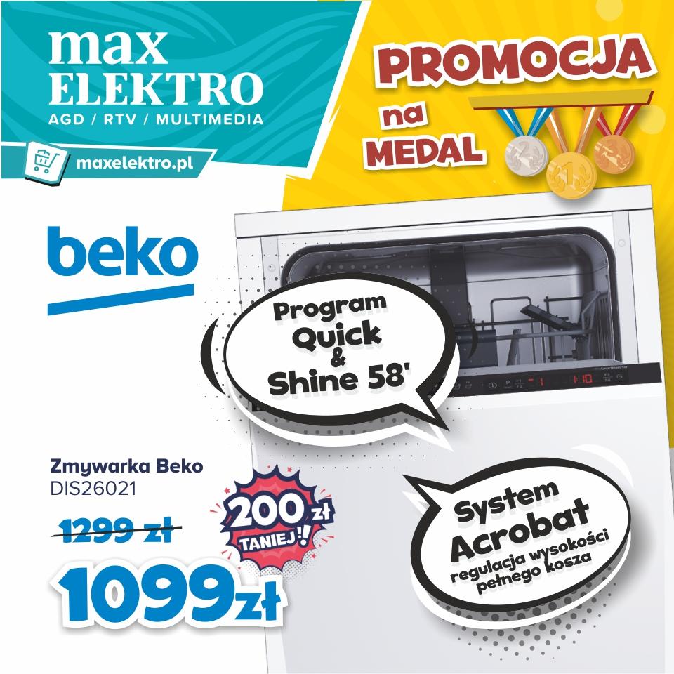 Agnes Oświęcim RTV AGD max elektro Promcje na medal Beko