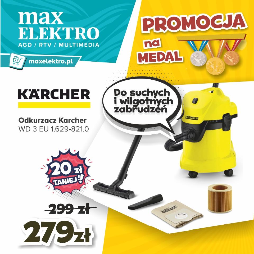Agnes Oświęcim RTV AGD max elektro Promcje na medal Karcher